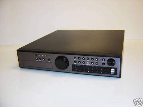 16 CH PENTAPLEX H.264 DVR ALL CHANNELS RECORD D1 30FPS!