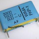 3300-1600V WIMA FKP1 POLYPROPYLENE FILM CAP 5% NEW!