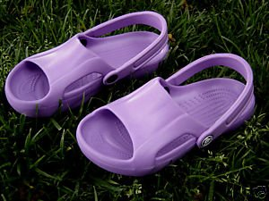 CROCS NILE SHOES PURPLE WOMENS/YOUTH SIZE 4 BRAND NEW!