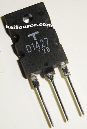 2SD1427 TOSHIBA ORIGINAL SILICON NPN POWER TRANSISTOR