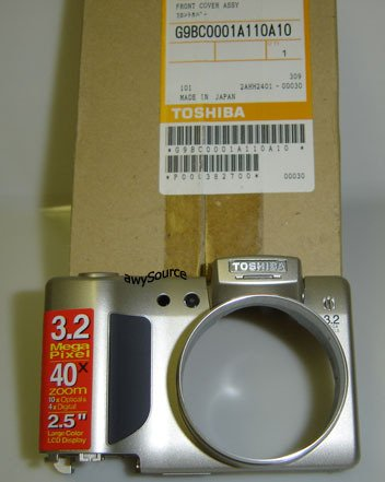 P000382700 TOSHIBA FRONT COVER ASSY 28400978 BRAND NEW!