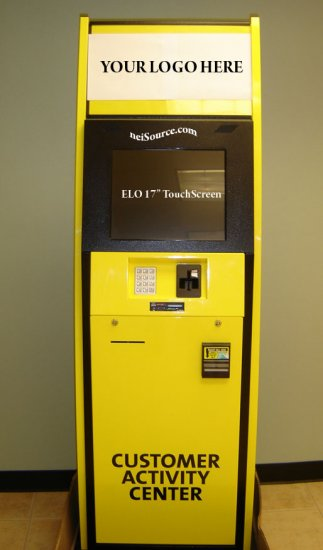 PAYMENT KIOSK W/TOUCHSCREEN, BILL VALIDATOR UP TO $100