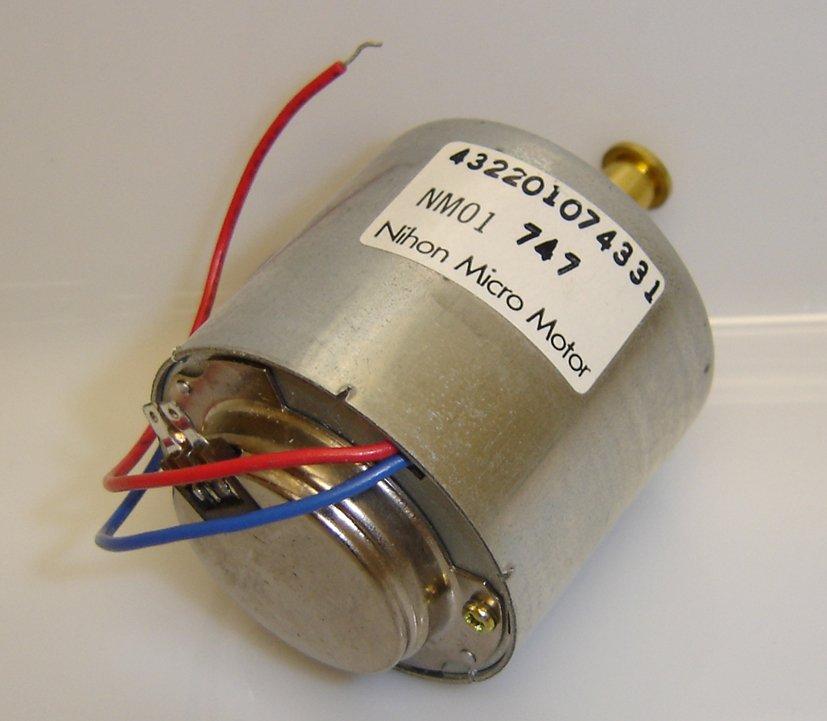 NM01-747 NIHON MICRO MOTOR 432201074331 BRAND NEW!
