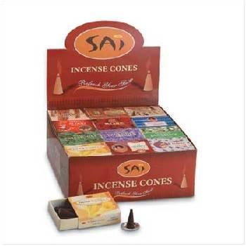 Lot of 96 Packs of 10 Sai Incense Cones