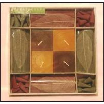Lot of 12 Packs of 252 Incense Cones/Sticks/Candles