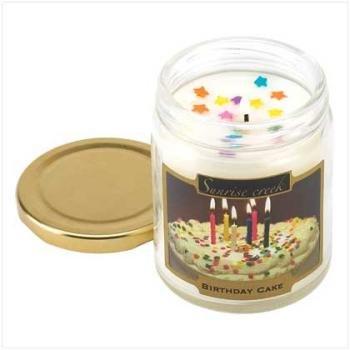 Sugar Cookie, Apple Pie, Cinna Nilla, Birthday Cake Scented Candles