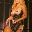 Leather Corset & G-String - Item 2220