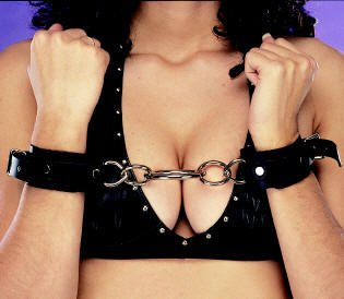 Leather Wrist Restraints - Item B44