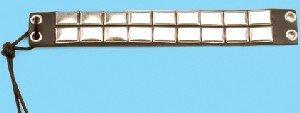 Leather Stud Armband - B238