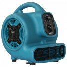 XPOWER P-230AT P-230AT 800cfm 3-Speed Mini Air Mover/Floor Dryer/Utility Blower