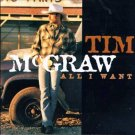 Tim Mcgraw All I want cd