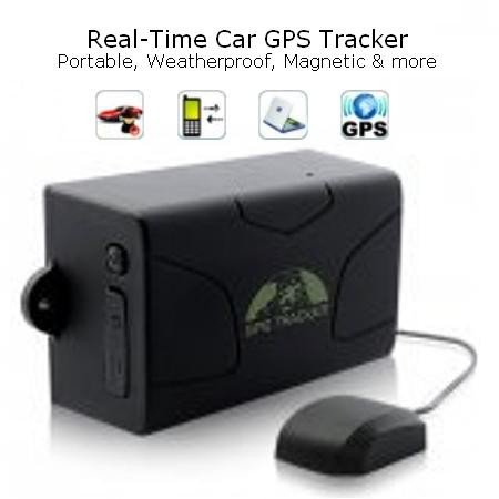 Real-Time Car GPS Tracker - (Portable, Weatherproof, Magnet & More)