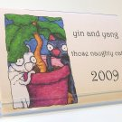 Yin and Yang 2009 Desk Calendar