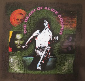 Alice Cooper 2005 Dirty Diamonds Concert Tour Shirt.