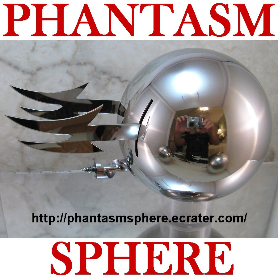 Metal Phantasm Sphere Ball Prop Replica Part 3 Ald