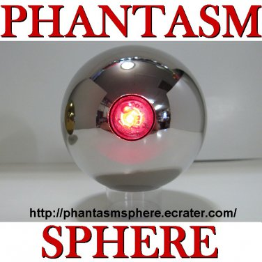 Laser Non Blink Style Phantasm Sphere Ball Prop Replica Part 2