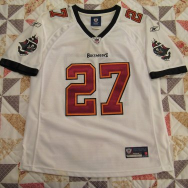 Tampa Bay Buccaneers Women's or Girls Jersey #27 Blount, White Size Large, Sewn