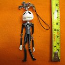 Jack Skellington Figure ornament, keychain swing decoration. Worried Face