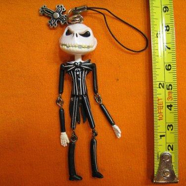 Jack Skellington Figure ornament, keychain swing decoration. Scary Face