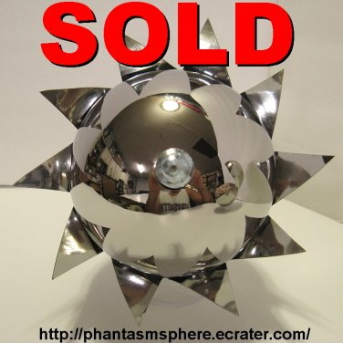 Metal Phantasm Sphere Ball Prop Replica Grinder Style Part 2