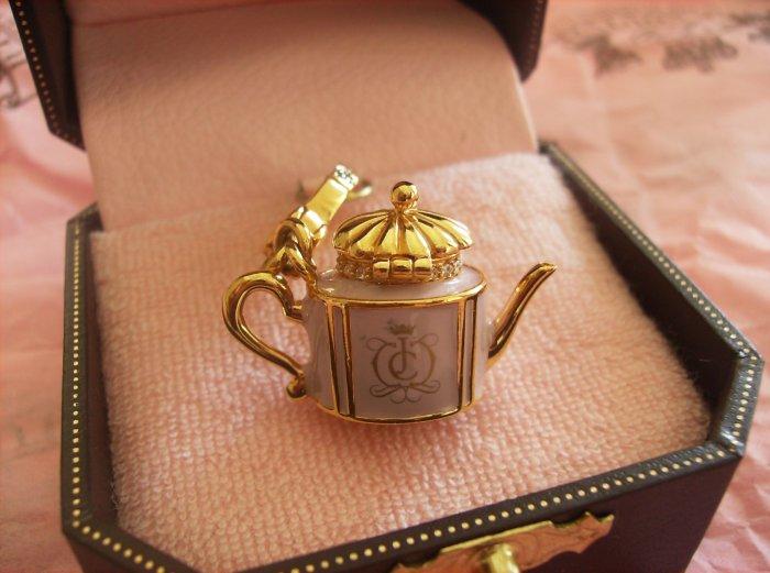 Juicy Couture Teapot Charm