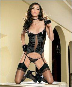 Bustier - Sexy Wear Lingerie LA-81147 $44.38