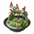 #39566 Playful Pals Tabletop Fountain
