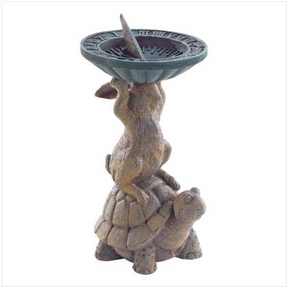 #38939 Hare And Turtle Sundial