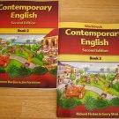 Contemporary English Book 2 w/Workbook ESL Home School