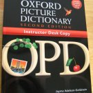 Oxford Picture Dictionary ESL 2nd ED Home School BEAUTY