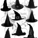 Witch Hat Digital Collage Sheet