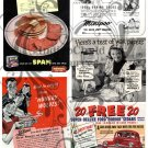 Kitsch 1948 Ad Digital Collage Sheet