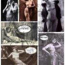Kitschy Gals Digital Collage sheet