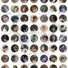 1 Inch Female Circles Digital Collage sheet
