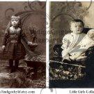 Little Girls Digital Collage Sheet
