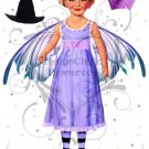 Fairy Girl Paper Art Doll Collage Sheet
