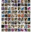 The Kiss Scrabble Tile Digital Collage sheet