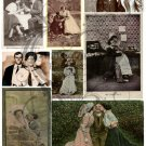 Lovey Dovey Digital Collage Sheet
