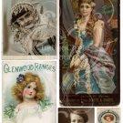A Pretty Face Digital Collage Sheet