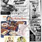 Kitsch 1948 Ad Digital Collage Sheet 2