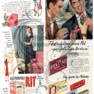 Kitsch 1948 Ad Digital Collage Sheet 3
