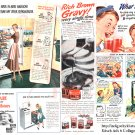 Kitsch 1948 Ad Digital Collage Sheet 6