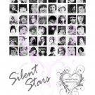 Silent Stars Scrabble Tile Collage Sheet