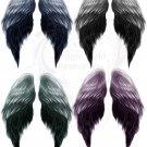 Painted Angel Wings Digital Collage Sheet