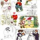 Be My Valentine Digital Collage Sheet 5
