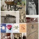 Misc. Ephemera Digital Collage Sheet 3