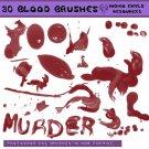 Large Blood Brushes