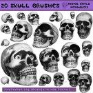 Skull Brush Pack