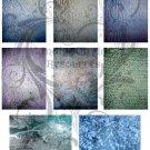ATC Grunge Digital Collage sheet 2