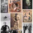 Houdini Digital Collage Sheet